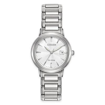 Citizen Eco-Drive Sport Ladies' Bracelet Watch in Stainless Steel