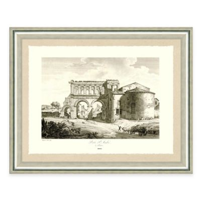 Architectural Structure I Framed Art Print