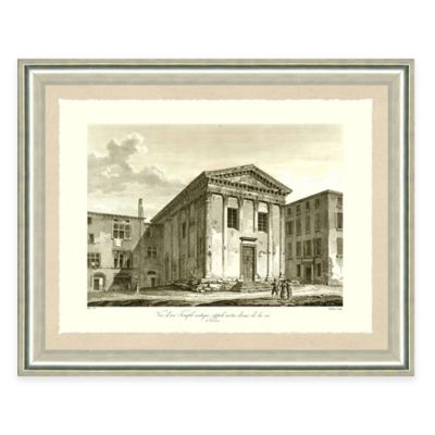Architectural Structure II Framed Art Print