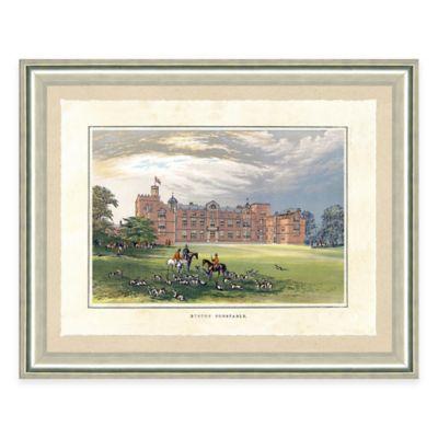 Castle Estate I Framed Art Print