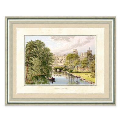 Castle Estate III Framed Art Print