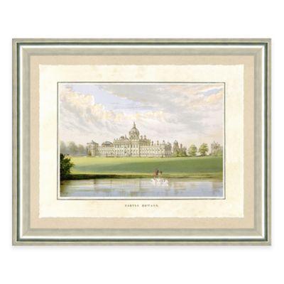 Castle Estate IV Framed Art Print