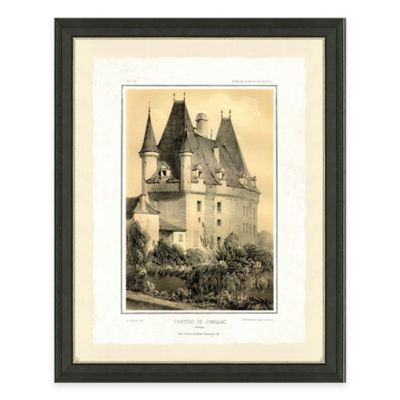 Castle I Framed Art Print