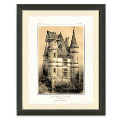 Castle II Framed Art Print