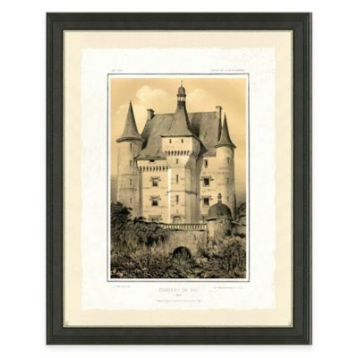 Castle III Framed Art Print