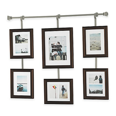 Buy Wall Solutions 10 Piece Rod And Frame Set In Pewter