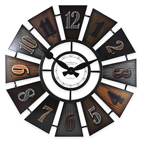 Firstime 174 Windmill Wall Clock Bed Bath Amp Beyond