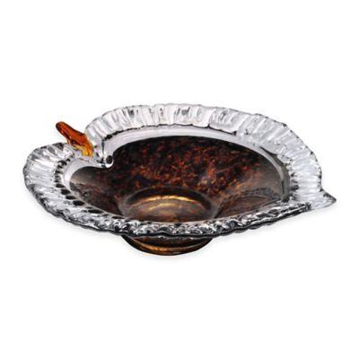 Dale Tiffany™ 12-Inch Amber Leaf Bowl