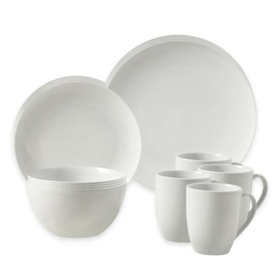 Tabletops Gallery® Adams 16-Piece Coupe Dinnerware Set