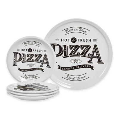 White Pizza Set