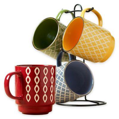 Tabletops Unlimited® Gallery 5-Piece Brandon Mug Tree Set