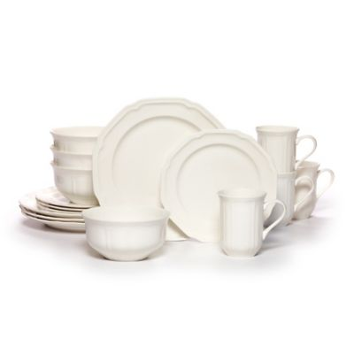 Mikasa® Antique White 16-Piece Dinnerware Set