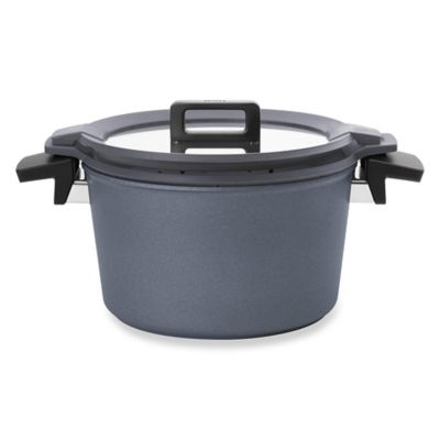 Woll® Concept Plus Induction 6 qt. Covered Stock Pot with Silicone Insert