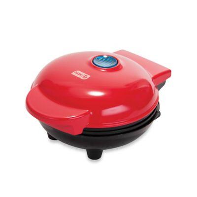 DASH™ Go Mini Waffle Maker in Red
