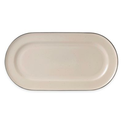 Gordon Ramsay by Royal Doulton® Union Street Oval Platter in Cream