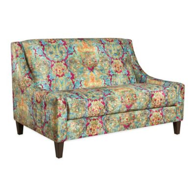 Tracy Porter® Lucy Settee in Enchantress Mulberry