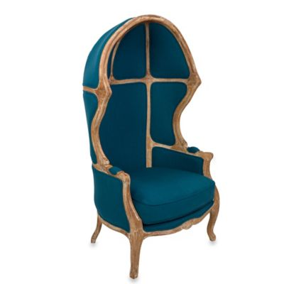 Safavieh Sabine Canopy Chair in Blue