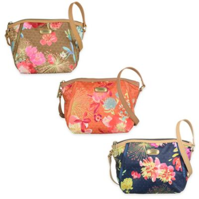 Oilily® Tropical Peony Extra-Small Shoulder Bag in Gold