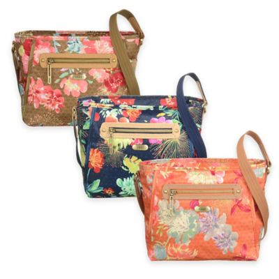 Oilily® Tropical Peony Small Shoulder Bag in Gold