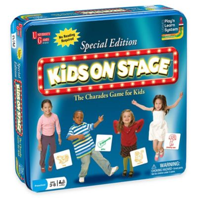 Kids on Stage Charades Special Edition Game