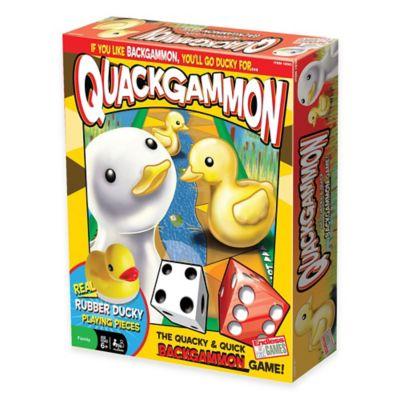 Quackgammon Board Game
