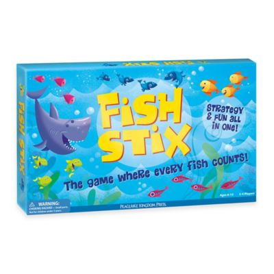 Peaceable Kingdom Fish Stix Visual Strategy Game