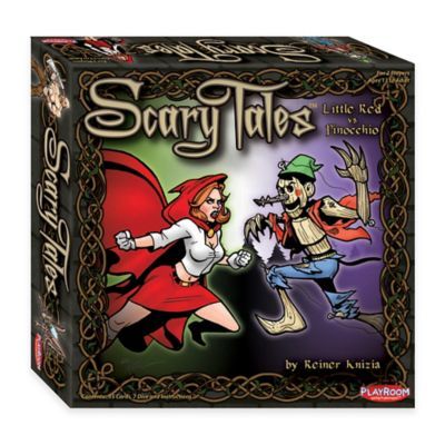 Scary Tales: Little Red Riding Hood vs. Pinocchio Card Game