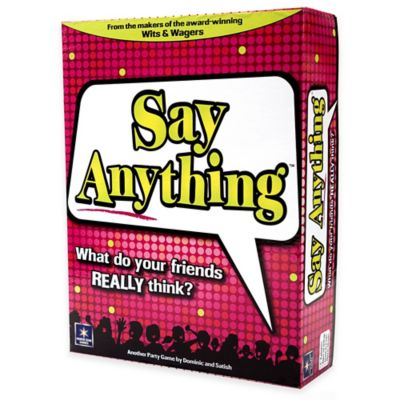 Say Anything Game