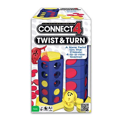 Connect 4 Twist & Turn Game