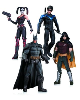 DC Comics™ Batman: Arkham City 4-Piece Action Figure Set