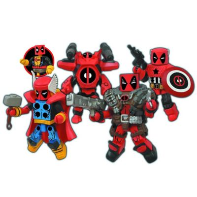 Marvel® Minimates Deadpool Assemble Box Set