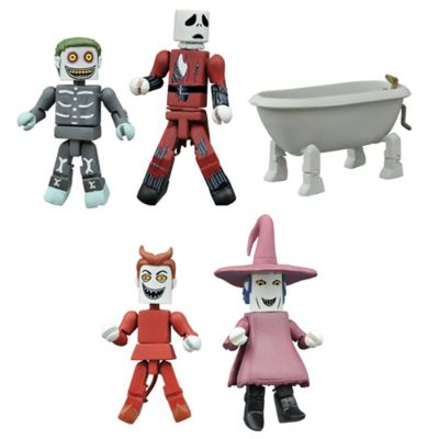 Nightmare Before Christmas Deluxe Minimates Box Set