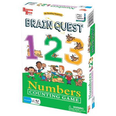Brain Quest Numbers Counting Game