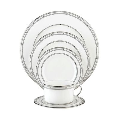 kate spade new york Pebble Point 5-Piece Place Setting