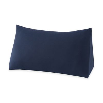 Therapedic® Reading Wedge Knit Pillow Protector in Navy