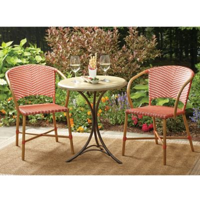 Buy scott living marco island 3 piece bistro set from bed - Bistro sets for small spaces collection ...