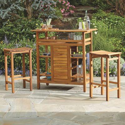 Wood Corner Tables