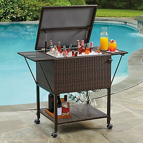 Stratford Insulated Cooler Cart Bed Bath Amp Beyond