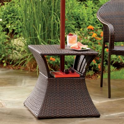 Patio Furniture Umbrella Table