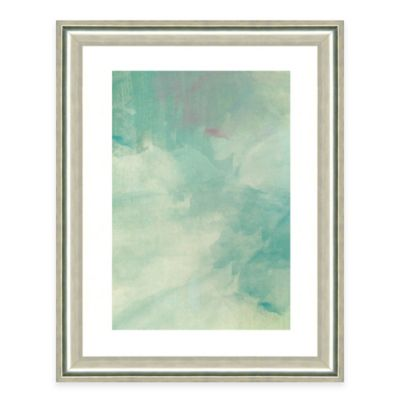 Light Blue Watercolor I Framed Art Print