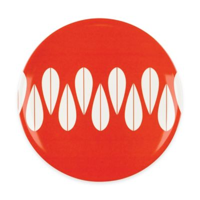 Salad Plate in Red