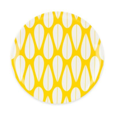 Dansk® The Burbs Salad Plate in Yellow