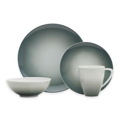 Mikasa® Naya 4-Piece Place Setting in Grey Ombré
