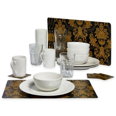 Tabletops Gallery® Traditional 24-Piece Dinnerware Set