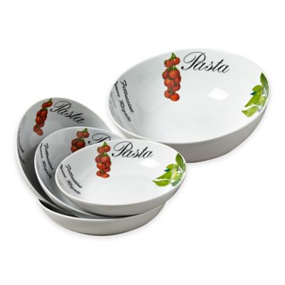 Tabletops Gallery® Italian Gourmet 5-Piece Pasta Set