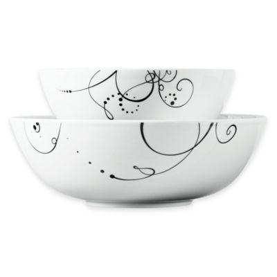 Tabletops Gallery® Pescara 2-Piece Serving Bowl Set