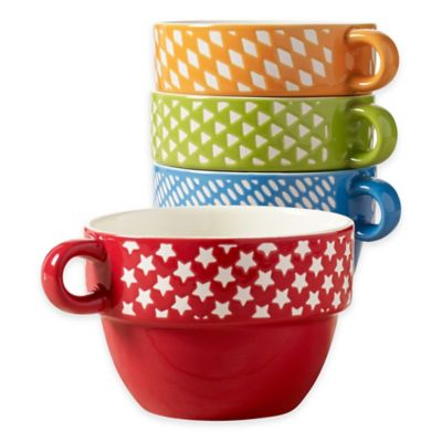 Tabletops Gallery Stacking Mugs
