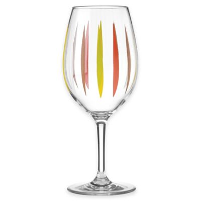 Dansk® The Burbs Acrylic Wine Glass Dining