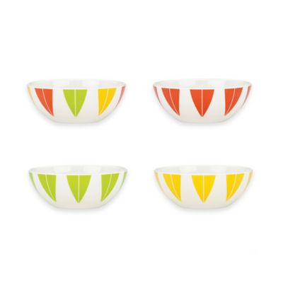 Dansk® The Burbs 4-Piece Multicolored Party Bowl Set