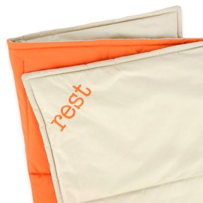 Territory® Modern Microfiber Waterproof Comforter in Orange/Grey